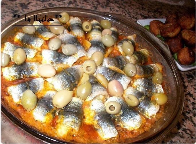 اطباق الاسماك طاجين السردين المحشو bntpal.com_147144502