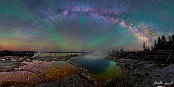 مذهلة لمجرة التبانة سماء منتزه bntpal.com_148840103