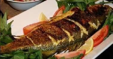 طريقة عمل سمك الدنيس المشوي