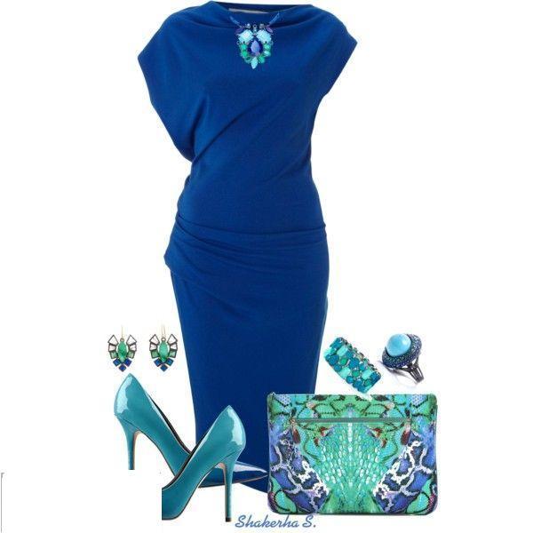 كولكشن فساتين قصيرة باللون الأزرق bntpal_1423820069_83