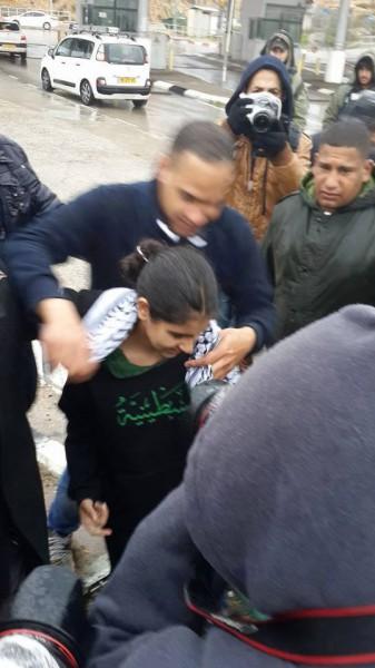 إطلاق سراح الطفلة ملاك الخطيب bntpal_1423825142_52