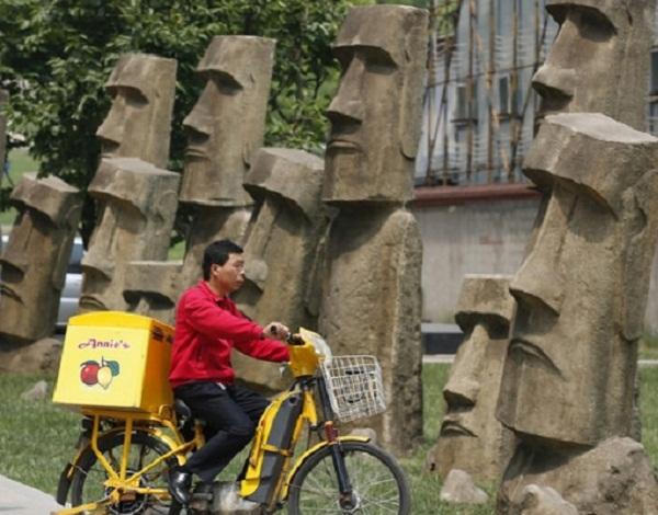 بالصور:الصين تجمع عجائب العالم بلادها