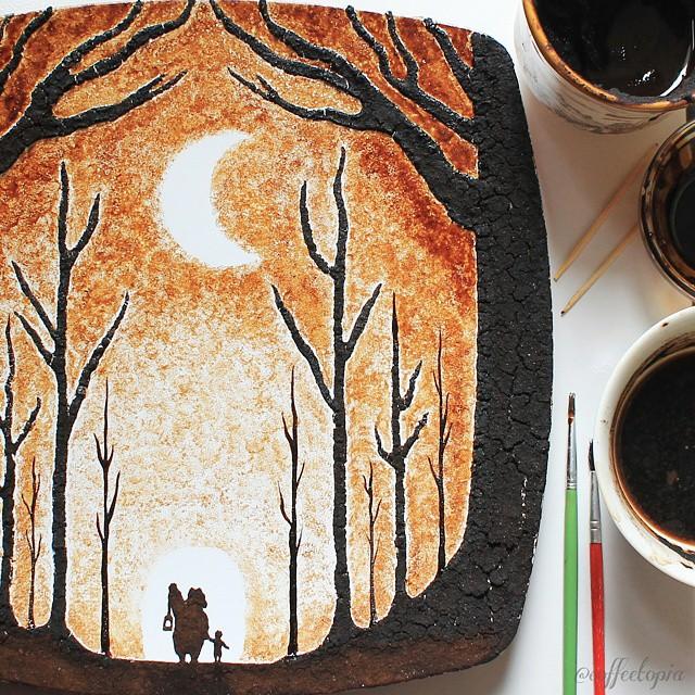 فنان يحول قهوة الصباح لوحات bntpal_1444420295_15