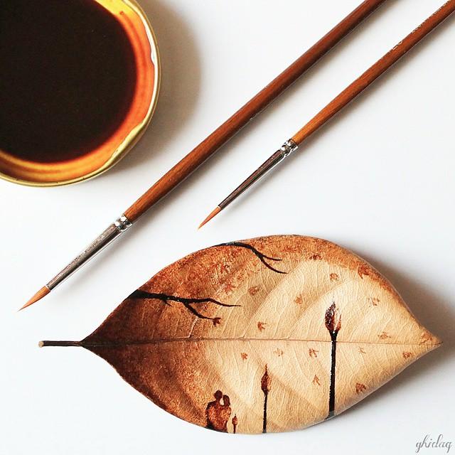 فنان يحول قهوة الصباح لوحات bntpal_1444420296_52
