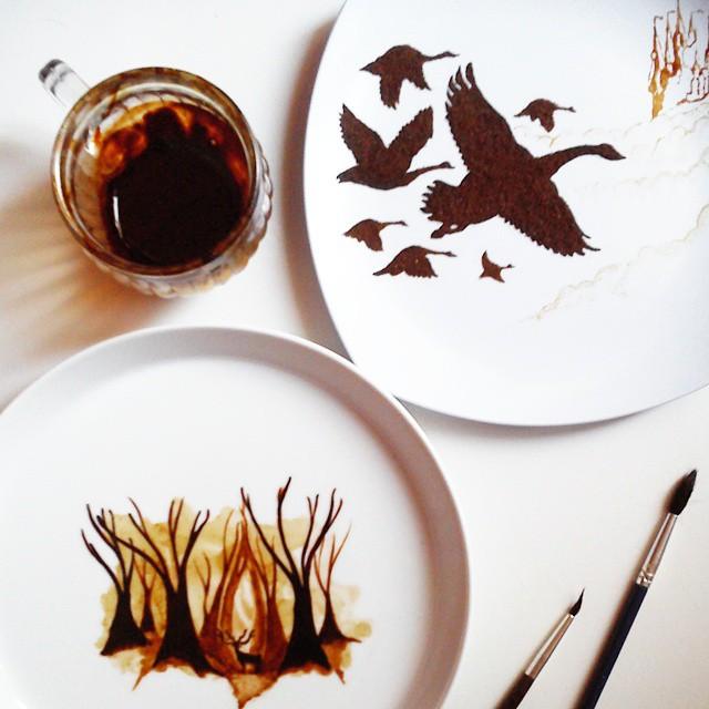 فنان يحول قهوة الصباح لوحات bntpal_1444420299_11
