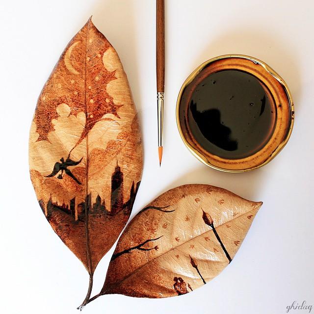 فنان يحول قهوة الصباح لوحات bntpal_1444420301_31