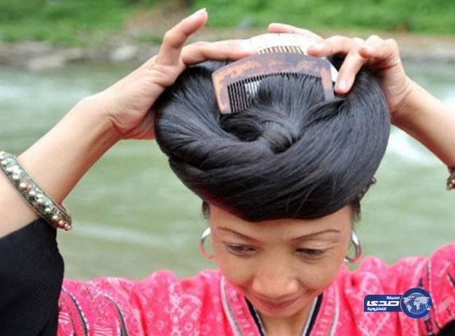 نساء قبيلة «الياو» الأطول شعرًا bntpal_1448360859_49
