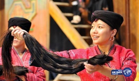 نساء قبيلة «الياو» الأطول شعرًا bntpal_1448360859_70