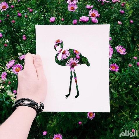 فنان يستعين بالطبيعة لإستكمال لوحاته bntpal_1449342597_13