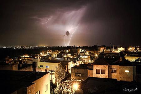 البرق يزين سماء بلدة معاوية bntpal_1450448578_28