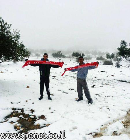 الثلوج تزيّن جبال عراد النقب bntpal_1453840682_43