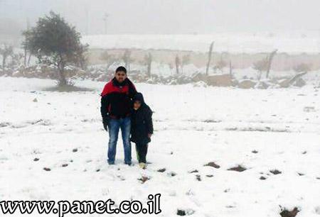 الثلوج تزيّن جبال عراد النقب bntpal_1453840682_52
