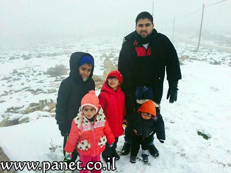 الثلوج تزيّن جبال عراد النقب bntpal_1453840682_84
