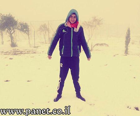 الثلوج تزيّن جبال عراد النقب bntpal_1453840683_10