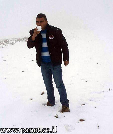 الثلوج تزيّن جبال عراد النقب bntpal_1453840683_88