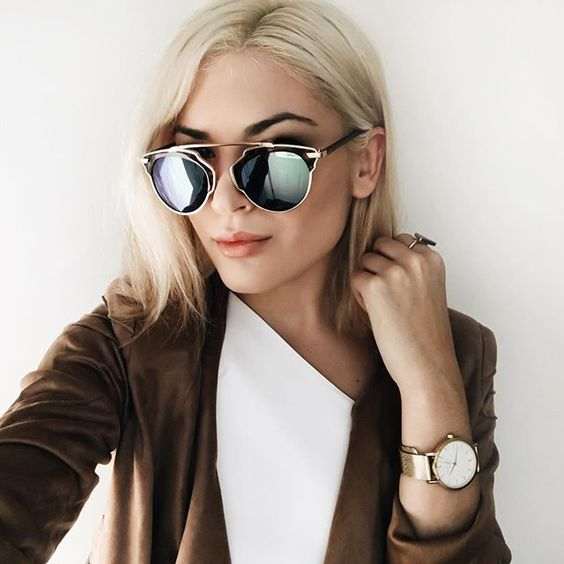 احدث موديلات النظارات الشمسية لاطلالتك في ربيع 2017