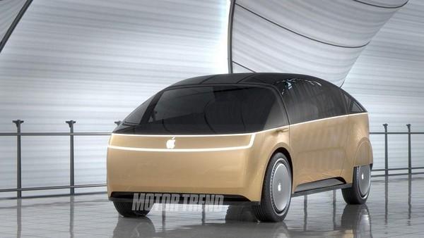 هل هكذا سيبدو شكل أول سيارات Apple !~
