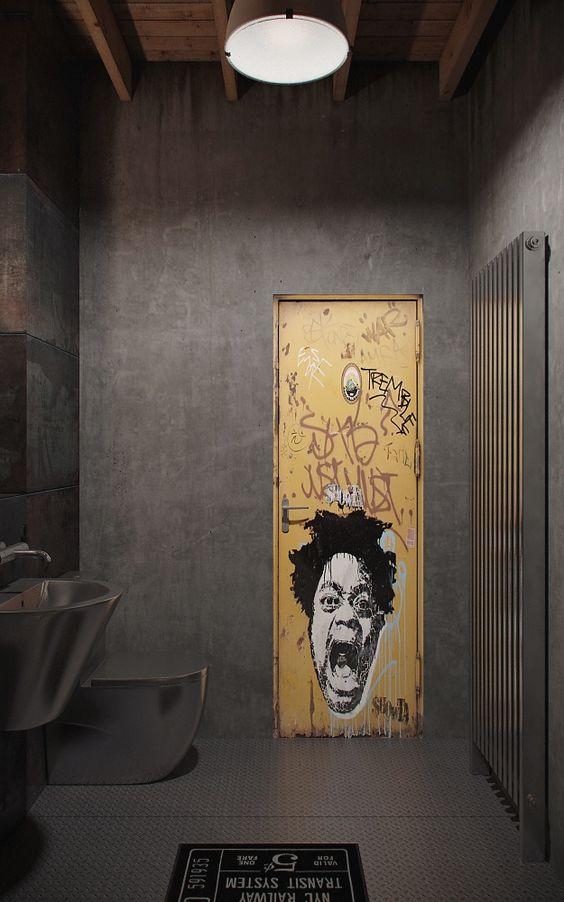 الفن الجرافيتي ديكور المنزل 🌸 bntpal_1498638015_15