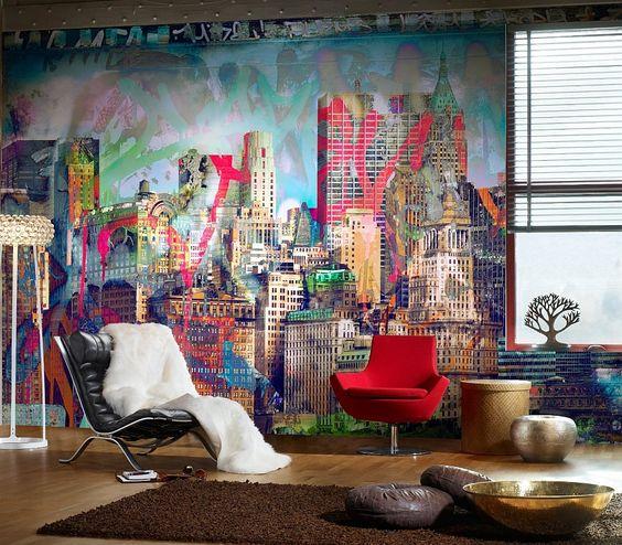 الفن الجرافيتي ديكور المنزل 🌸 bntpal_1498638016_12