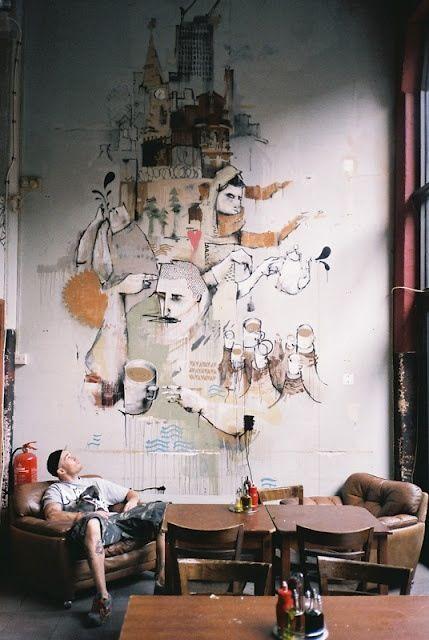 الفن الجرافيتي ديكور المنزل 🌸 bntpal_1498638016_15