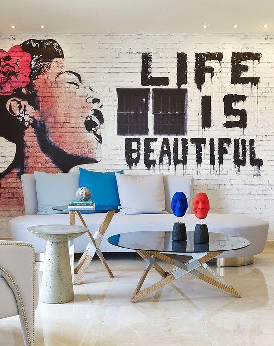 الفن الجرافيتي ديكور المنزل 🌸 bntpal_1498638016_75
