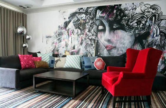 الفن الجرافيتي ديكور المنزل 🌸 bntpal_1498638016_98
