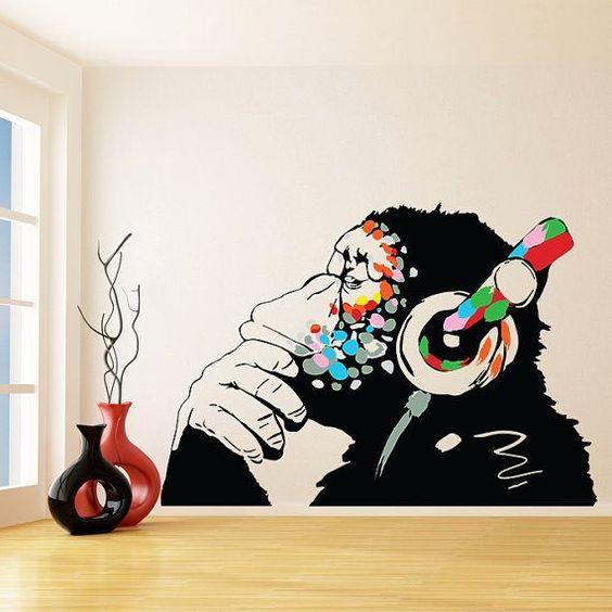 الفن الجرافيتي ديكور المنزل 🌸 bntpal_1498638017_30