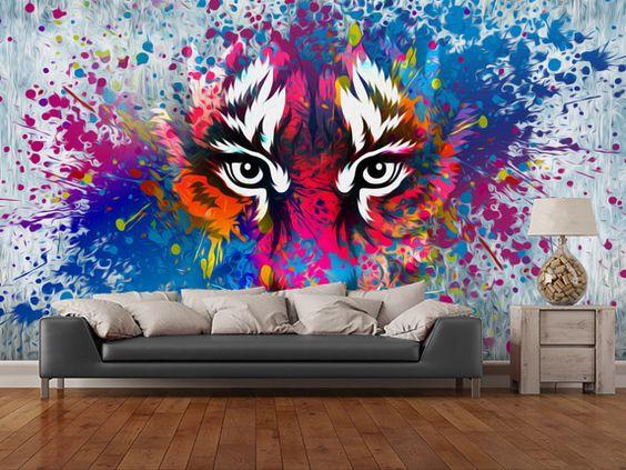 الفن الجرافيتي ديكور المنزل 🌸 bntpal_1498638017_89