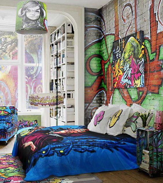 الفن الجرافيتي ديكور المنزل 🌸 bntpal_1498638017_91